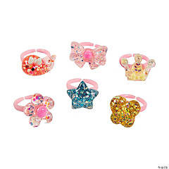 Glitter Ring Assortment