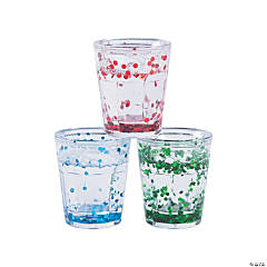 Glitter Shot Glasses