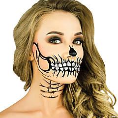 Glitter Skull Stencil Makeup Kit