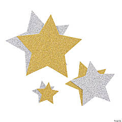 Glitter Star Shapes