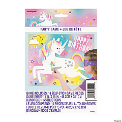 Glitter Unicorn Birthday Party Game