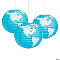 Globe Hanging Paper Lanterns