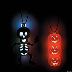 Glow Halloween Character Necklaces