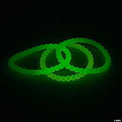 Glow-in-the-Dark Beaded Bracelets