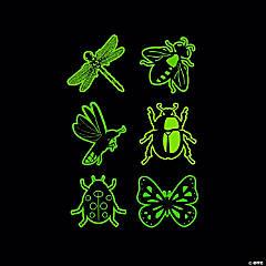 Glow-in-the-Dark Bug Temporary Tattoos