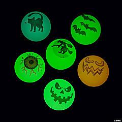 Glow-in-the-Dark Halloween Bouncy Balls