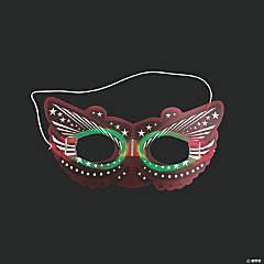 Glow-in-the-Dark Masquerade Masks
