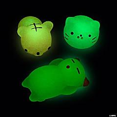 Glow-in-the-Dark Mochi Squishies