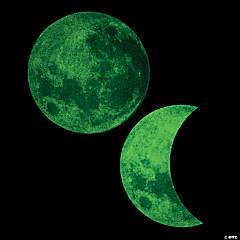 Glow-in-the-Dark Moon Bulletin Board Cutouts