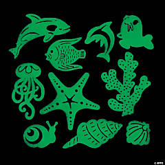 Glow-in-the-Dark Sea Life Creatures