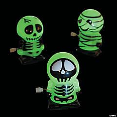 Glow-in-the-Dark Skeleton & Mummy Wind-Ups