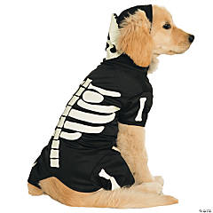 Glow-In-The-Dark Skeleton Dog Costume