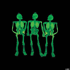 Glow-in-the-Dark Sticky Skeletons