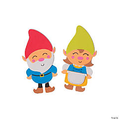 Gnome Magnet Craft Kit
