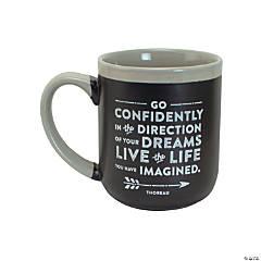 Go Confidently Ceramic Mug