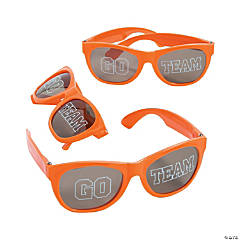 Go Team Orange Sunglasses