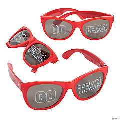 Go Team Red Sunglasses