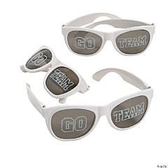 Go Team White Sunglasses