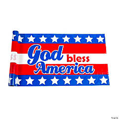God Bless America Bunting Roll