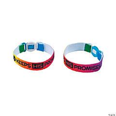 God Keeps His Promises Friendship Bracelets - 12 Pc.