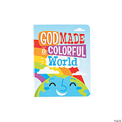 God Made a Colorful World Board Books