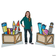 God's Galaxy VBS Crate Stand-Ups