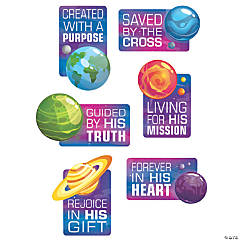 God's Galaxy VBS Cutouts