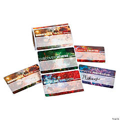 God's Galaxy VBS Name Tags/Labels
