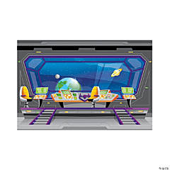 God's Galaxy VBS Spaceship Backdrop