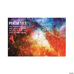 God's Galaxy VBS Verse Backdrop