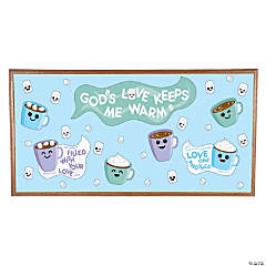 God's Love Keeps Me Warm Bulletin Board Set