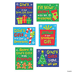 God's Presence Best Gift Ever Mini Cutouts