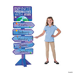 God's Galaxy VBS Directional Sign