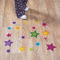 God's Galaxy VBS Star Floor Clings