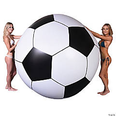 GoFloats 6' Giant Inflatable Soccerball