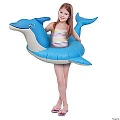 GoFloats Dolphin Jr Pool Float Party Tube