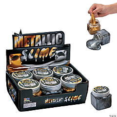Gold & Silver Metallic Slime