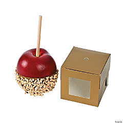 Gold Caramel Apple Boxes