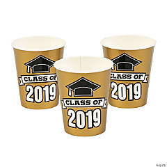 Gold Class of 2019 Cups