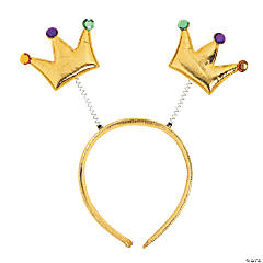 Gold Crown Head Boppers