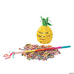 Gold Foil Pineapple Piñata Kit