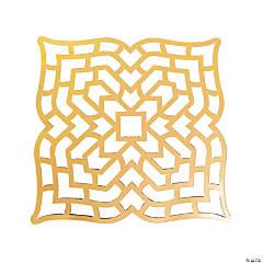 Gold Foil Placemats