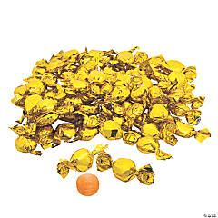 Gold Foil-Wrapped Hard Candy