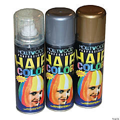 Gold Glitter Hairspray