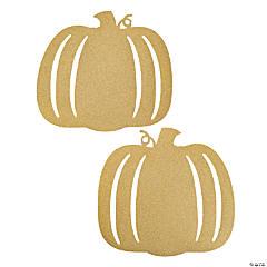 Gold Glitter Pumpkin Cutouts