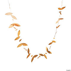 Gold Leaf Garland