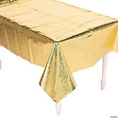Gold Metallic Tablecloth