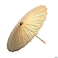 Gold Paper Parasol