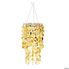 Gold Reflective Hanging Chandelier