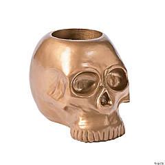 Gold Skull Centerpiece